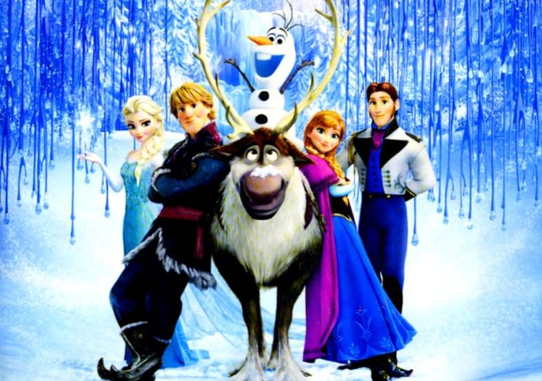 アナと雪の女王フリーフォール