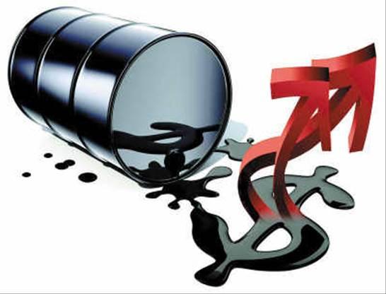世界中で原油先物の上昇で、世界的に物価の価値が上昇?