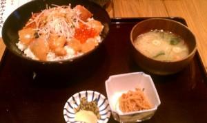 三船 海鮮丼