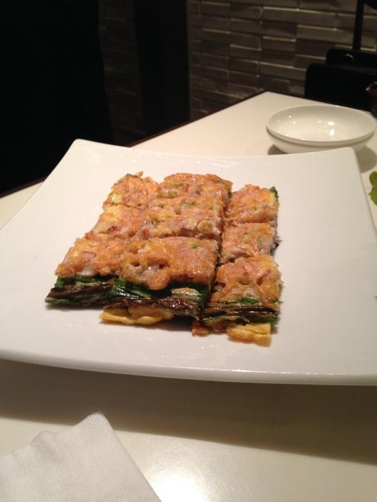 韓の旬菜彩 海鮮チヂミ