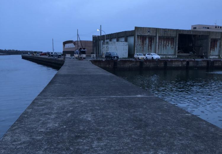 銚子 夜釣り