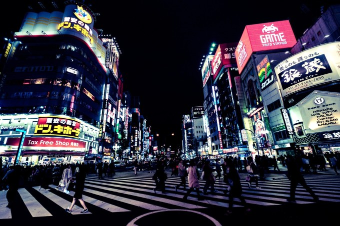 歌舞伎町 夜遊び