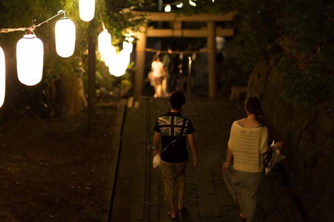 神社 デート