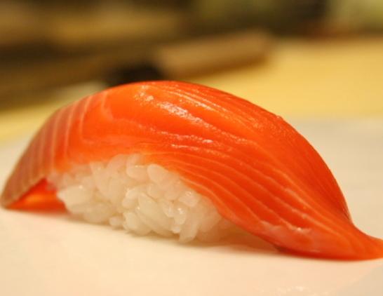 シャケの寿司