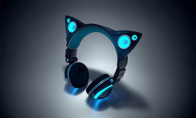 猫耳型ヘッドホン