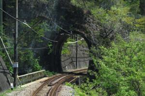 日本一短い「樽沢トンネル」