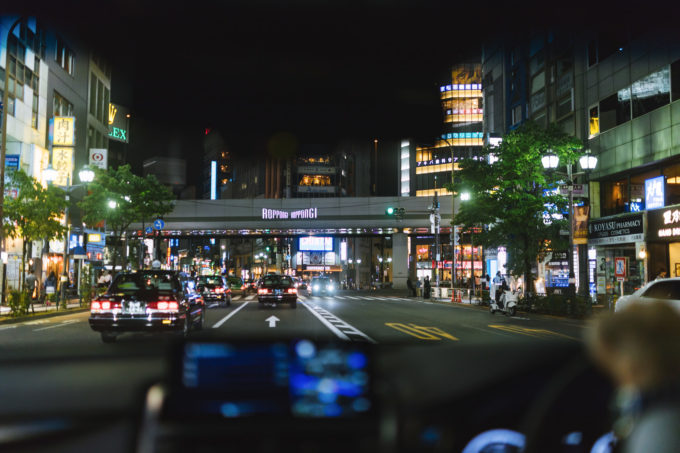 通勤 タクシー