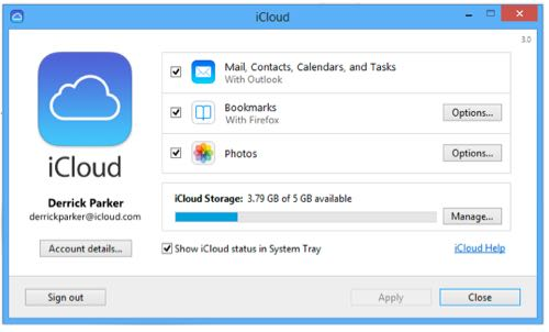 Windows用iCloud