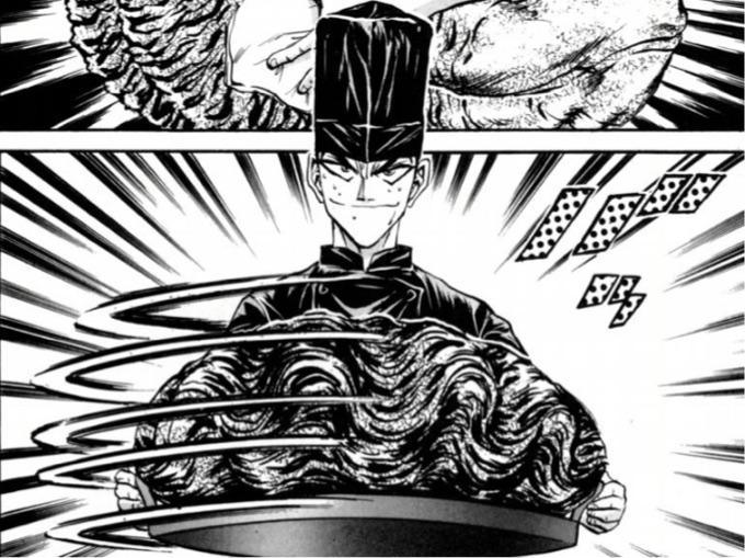 鉄鍋のジャン シャコ貝