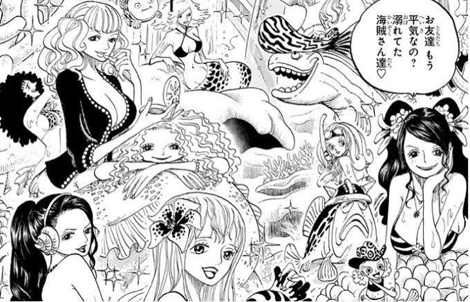 ワンピース 人魚