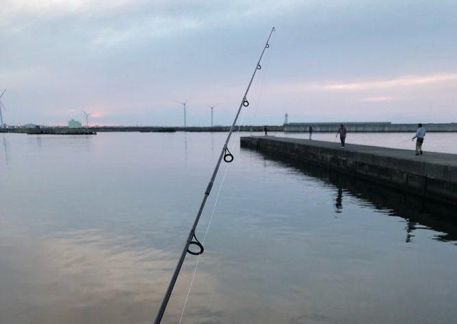 夜釣り 銚子